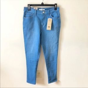 NWT Levi's 721 High Rise Skinny Jeans 29 / 8 Short